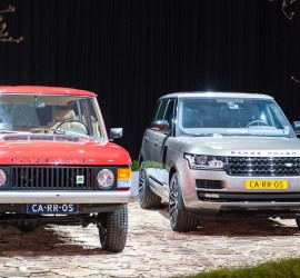 Range Rover 2015 and Classic