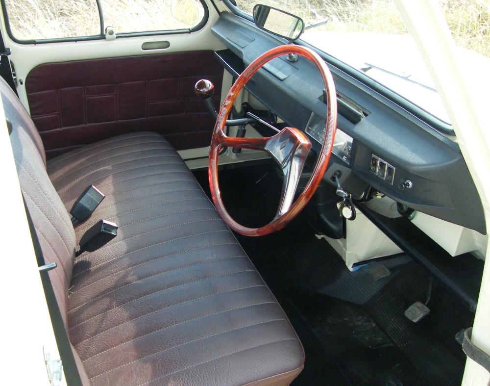 I'm a complete sucker for the interior. Especially the stick shifter!